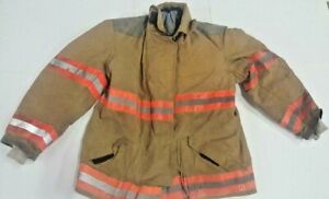 46x32 Globe Firefighter Jacket Coat Bunker Turn Out Gear J708