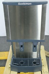 Used Scotsman Hid312a 1 Nugget Ice Machine dispenser 260 Lb Capacity