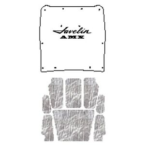 Hood Insulation Pad Heat Shield For 68 1970 Amc Javelin Under Cover W A 010 Amx