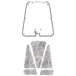 Hood Insulation Pad Cover For 52 56 Austin Healey Healey Acoustihood Under Cover