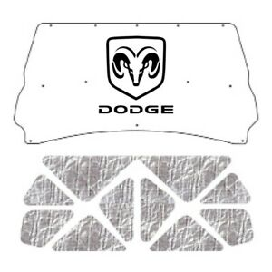 Hood Insulation Pad Cover For 94 2001 Dodge Truck Under Cover W M 015 Dodge Ram