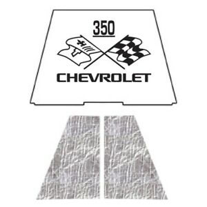 Hood Insulation Pad Heat Shield For 1953 1954 Chevrolet Under Cover W Ceid 350
