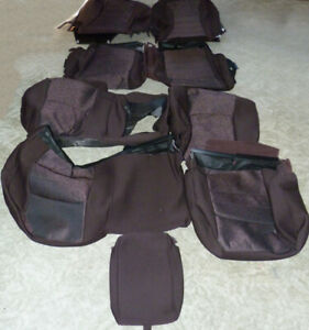 2013 2018 Brown Dodge Ram Truck Oem Cloth Seat Covers Take Offs 1500 2500 3500