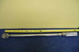 Snap On Torque Wrench Qd3r250 1 2 Drive 50 250 Ft Lbs No Case