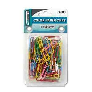 Promarx Paper Clips Assorted 200ct