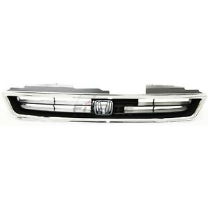 New Front Grille Made Of Plastic For 1996 1997 Honda Accor Ho1200136