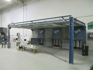 Donaldson Torit Ecb 3 Dws Downflo Spray Booth