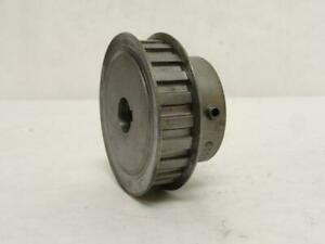185237 Old stock Martin 22l050 5 8 Timing Pulley 5 8 id 22t 1 2 wide 2 6 od