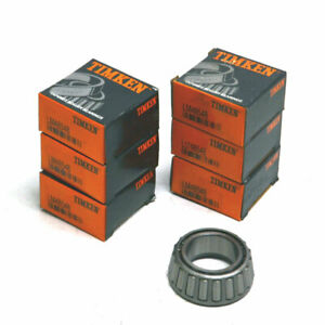 New Lof Of 6 Lm48548 Timken Single Row Tapered Roller Bearings
