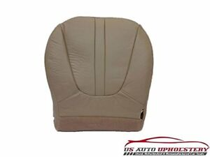 97 98 99 Ford Expedition Eddie Bauer Driver Bottom Vinyl Seat Cover Tan