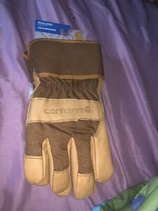 Carhartt Men s Insulated Cold Weather Work Gloves A513s Xl Nwt