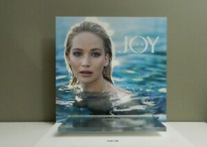 Dior Authentic Graphic Retail Perfume Sample Display Stand Jennifer Lawrence Pic