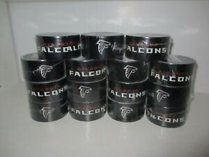 Lot Of 15 Atlanta Falcons Duck Tape Nfl Team Logo Duct Tape 1 88 In X 10 Y