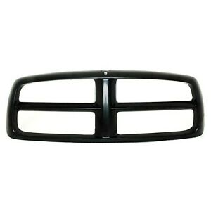New Grille Shell Black Finish For 2002 2005 Dodge Ram 1500 Ch1200248