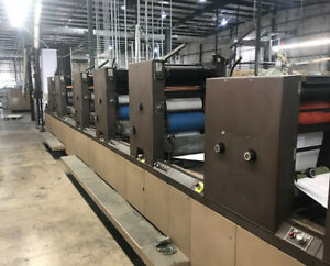 Didde 860 Web Press 5 Color 3 Over 2 Located In Virginia
