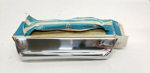 1967 Olds Cutlass Supreme 442 Front Fender Right Nos Gm Chrome Trim 230134