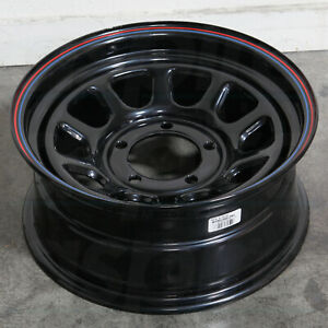 16x7 Black Red Blue Wheels American Racing Ar767 6x5 5 6x139 7 0 Set Of 4