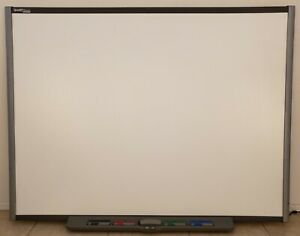 Smart Board Sb680 77 Interactive Whiteboard With Pens Tray Eraser