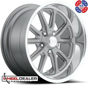 20 Inch Staggered Us Mags Rambler U111 Wheels C10 Squarebody Obs Truck 5x5