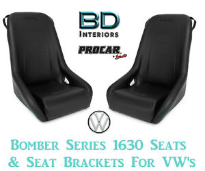 Scat Bomber 80 1630 51 Suspension Seats For 1956 1970 Vw Volkswagen Bug Beetle