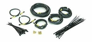 Tandem Axle Trailer Brake 20 Ft Line Kit With Flexible Hydraulic Rubber Hoses