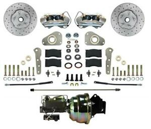 Leed Brakes Fc0025 8307x Disc Brake Front Conversion Power Assist Cross drilled