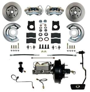 Leed Brakes Fc0002 3405a Disc Brake Front Conversion Power Assist Solid Surface