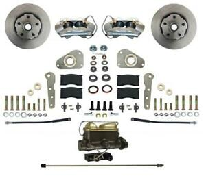 Leed Brakes Fc0025 405p Disc Brake Kit Front Conversion Power Assist Solid
