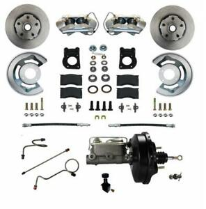 Leed Brakes Fc0004 w405 Disc Brake Front Conversion Power Assist Solid Surface R