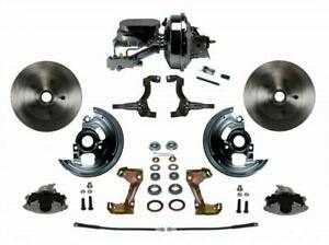 Leed Brakes Fc1002 f6b2 Disc Brake Kit Front Conversion Power Assist Solid