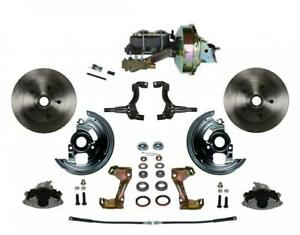 Leed Brakes Fc1006 e1a1as Disc Brake Kit Front Conversion Power Assist Solid