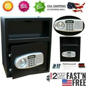 20 Off steel Digital Safe Box Electronic Lock Home Office Hotel Security Cash