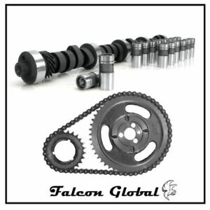Chevy Gmc 5 0l 305 5 7 5 7l 350 Torque Cam lifters Double Timing Kit Tbi Stage 1