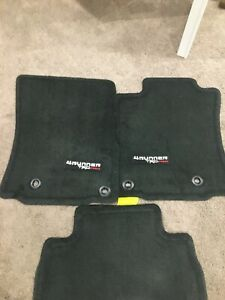 4runner 2019 Trd Pro Carpet Floor Mats Oem Dark Gray Pt2088915020