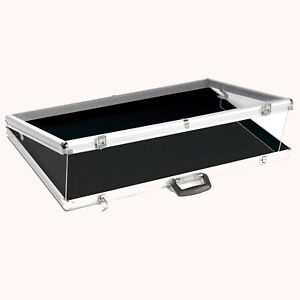 Portable Display Case Aluminum Showcase Acrylic Top 24 l X 20 d Pick Up Only
