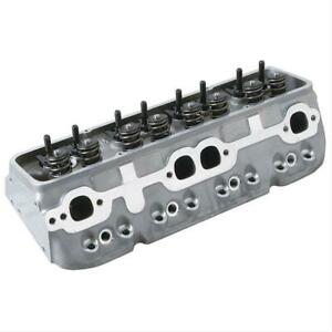 Summit 162111 Cylinder Heads Assembled Chevy Sb