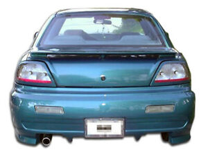 Duraflex Type X Rear Bumper Body Kit For 92 95 Pontiac Grand Am