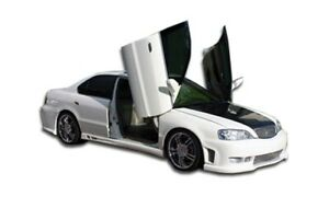 Duraflex Spyder Side Skirts Body Kit For 99 03 Acura Tl