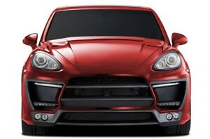 Aero Function Gfk Af 1 Wide Body Front Bumper Body Kit For 11 14 Cayenne