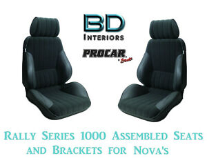 Assembled Seats Brackets For 1963 1979 Nova 80 1000 71 Rally 1000 Series Scat