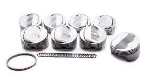 Sportsman Racing Products Sbc Domed Piston Set 4 155 Bore 142024