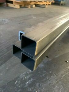 Steel Square Tube 2 X 2 X 48 Long X 1 8 Wall 0 125
