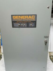 Generac Automatic Transfer Switch Type Gts020w 3k2ldnay 277 480 V