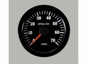 Vdo Vision Series Tachometer 0 7 000 3 1 8 Dia In dash Black Face 333151