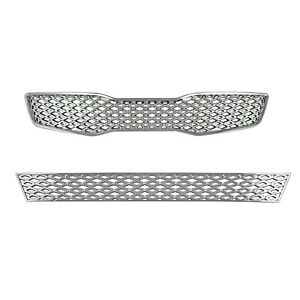 Brand New Chrome Grill Grille Overlay For 2011 2012 2013 Kia Optima Lx Ex
