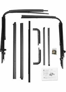 Bestop 55002 01 Soft Top Hardware Replacement Fits Jeep Kit