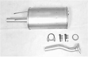 Fits 2006 2011 Honda Civic 1 8l Rear Muffler Assembly Two Piece