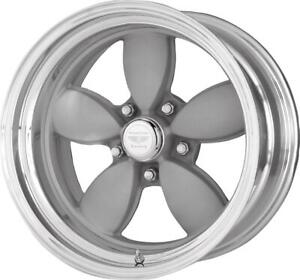 American Racing Classic 200s Two Piece Mag Gray Center Polished Barrel