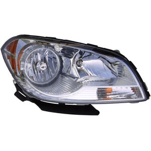 For Chevy Malibu 2008 2009 2010 2011 Left Driver Side Headlight Assembly Tcp
