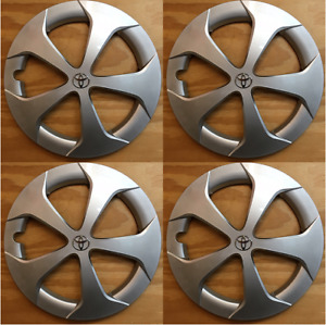 4x Replacement 2010 2015 Toyota Prius 15 Inch Hubcap Replaces 61167 42602 47060